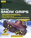 Snow Ice Shoe Grip Cleats Anti Slip For Winter Conditions Medium Shoe Size 6 - 9