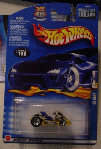 Hot Wheels Go Kart 2002 #198 - 1