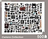 Camera Collection 500 Pieces Jigsaw Puzzle