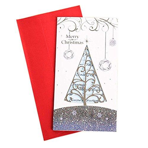 set von 3 exquisite kreative h hle aus weihnachtskarten. Black Bedroom Furniture Sets. Home Design Ideas
