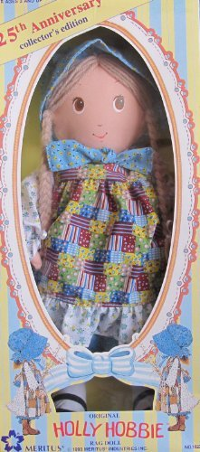 original-holly-hobbie-rag-doll-25th-anniversary-collector-edition-1993-meritus-by-25th-anniversary-c