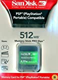 SANDISK 512MB MEMORYSTICK PRO DUO CARD