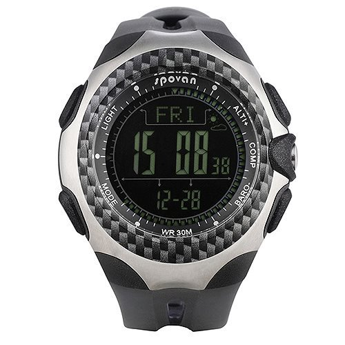 Generic Mcool Multifunctional Outdoor Hiking Waterproof Watch With Altimeter/Compass/Metronome/Countdown/Perpetual Calendar