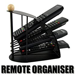 Orpio Branded Multi Metal Remote Control Stand/Organiser/Rack for TV etc Sony Samsung, LG...