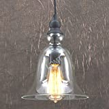 Big-Bell-Glass-Vintage-Retro-Ceiling-Pendant-Light-Hanging-Lamp
