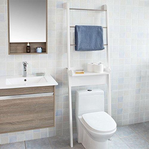 Sobuy mueble para ba o wc estanter a de ba o de mdf - Estanterias para bano ...