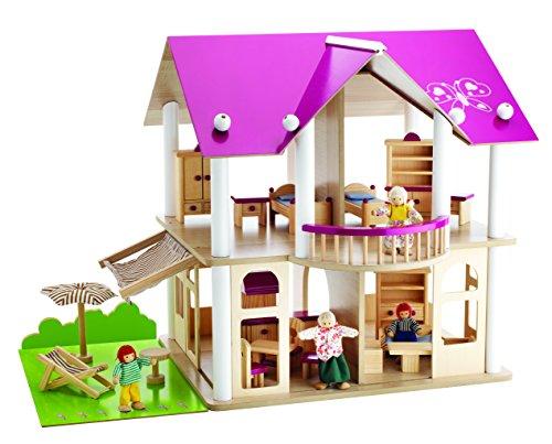 Eichhorn 2513 -  Villa delle bambole, con mobili e personaggi