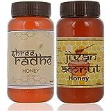Shree Radhe Honey And Honey - 1 Kg (Combo Of 2)
