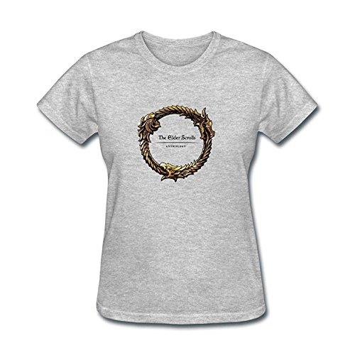 Women's The Elder Scrolls Online Game Logo T-shirt XXLarge