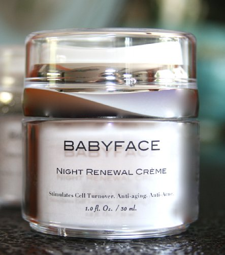 skin care babyface night renewal 2 retinol cream 1 700 000 iu g retinoid retin a. Black Bedroom Furniture Sets. Home Design Ideas