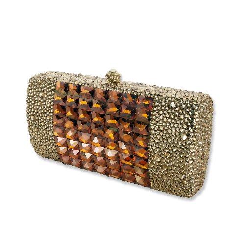 Aureate Swarovski Crystal Clutch Bag