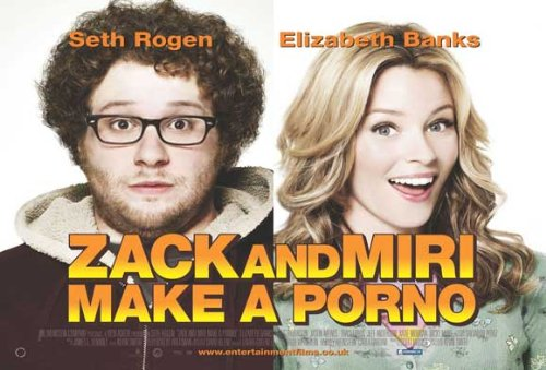Zack and Miri Make A Porno 11 x 17 Movie Poster - Style E