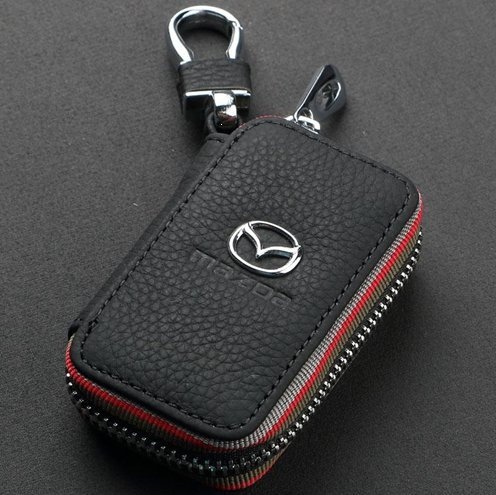 amooca-car-smart-key-chain-leather-holder-cover-case-fob-remote-for-mazda
