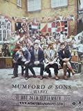 Mumford and Sons - Babel, Original Press Promo - Mounted Poster
