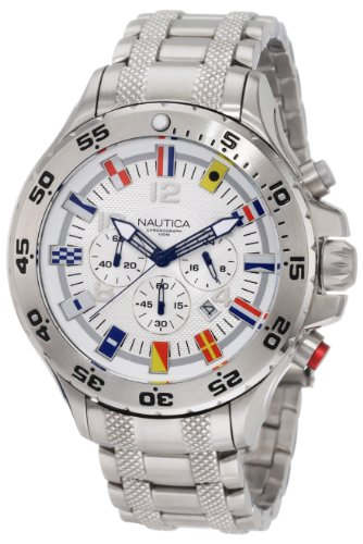 Nautica Men's N20503G NST Chronograph Bracelet Watch
