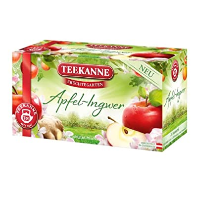 Teekanne Früchtegarten Apfel-Ingwer 20 Beutel, 6er Pack (6 x 57 g) von Teekanne bei Gewürze Shop