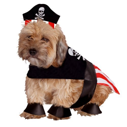 Pirate Dog Pet Halloween Costume (X-Small)
