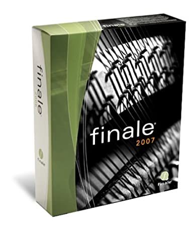 Finale 2007 Academic (Win/Mac) [Old Version]