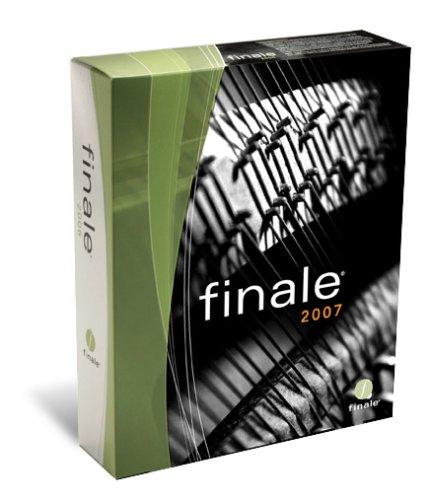 Finale 2007 Academic
