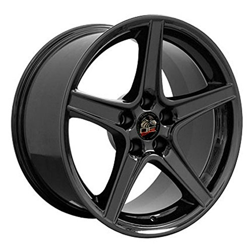 Black Wheel 18x10 Saleen Style for 1994-2004 Ford Mustang (Mustang Saleen Wheels compare prices)