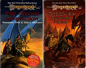 The Second Generation, Dragons of Summer Flame (Dragonlance: Second Generation) by Margaret Weis, Tracy Hickman, Ned Dameron and Larry Elmore
