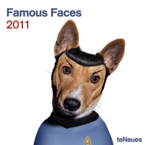 2011 Famous Faces Grid Calendar (Square Wall Cal)
