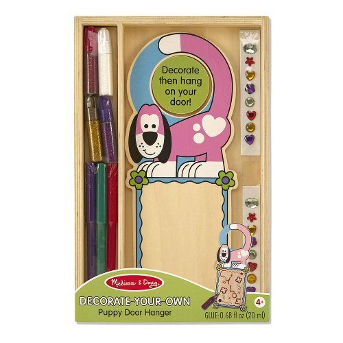 Melissa & Doug Door Hanger - Dog - 1