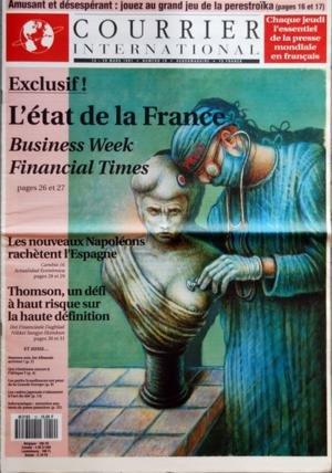 COURRIER INTERNATIONAL [No 46] du 19/09/1991 - LA FRANCE DES GRANDS TRAVAUX FAIT SALIVER L'ITALIE DES GRANDS DISCOURS - VIVE LE SUD-TYROL LIBRE - BOUFFEES NATIONALISTES EN EUROPE DU SUD - LA HONGRIE NOEUD ROUTIER DE LÔÇÖEUROPE - LES GAYS RUSSES DECOUVRENT LA POLITIQUE - PAKISTAN INVESTISSEURS ET CULTURE KALACHNIKOV - LES CADRES GLOBAUX NE DORMENT JAMAIS - LA REALITE VIRTUELLE DANS LES SUPERMARCHES - SOMMAIRE - BALISES - FIEVRE NATIONALISTE EN EUROPE DU SUD - EUROPES - GUERRE DU PETROLE EN YOUGO