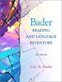 img - for Bader Reading and Language Inventory and Readers Passages Pkg. (4th Edition) book / textbook / text book