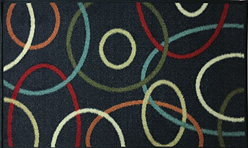 swan-comfort-home-fashion-printed-doormat-scrape-dirt-grass-textured-grip-bottom-18-x-31-circles-red