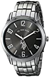 U.S. Polo Assn. Classic Mens USC80038 Analogue Black Dial Bracelet Watch