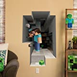 Minecraft Digging Wall Cling