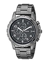 Fossil Dean Chronograph Analog Black Dial Men's Watch - FS4721