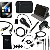 DigitalsOnDemand  14-Item Accessory Bundle for Amazon Kindle Fire HD 7&quot;, Dolby Audio, Dual-Band Wi-Fi, 16 GB 32 GB (Does not fit Kindle Fire HD 8.9 and older model Kindle Fire)