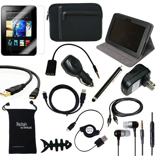 Why Should You Buy DigitalsOnDemand ® 14-Item Accessory Bundle for Amazon Kindle Fire HD 7, Dolby ...