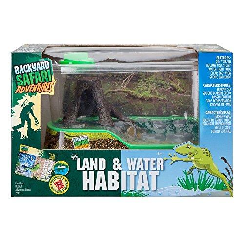 Backyard Safari Land and Water Habitat (Water Turtle Habitat compare prices)
