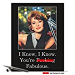 CAJ0860 Jumbo Funny Birthday Card: 'F...