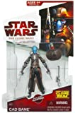 Star Wars, The Clone Wars 2009 Series, Cad Bane Action Figure #CW22, 3.75 Inches