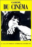 echange, troc Collectif - Cahiers du cinéma, tome 14 : février 1964 - octobre 1974