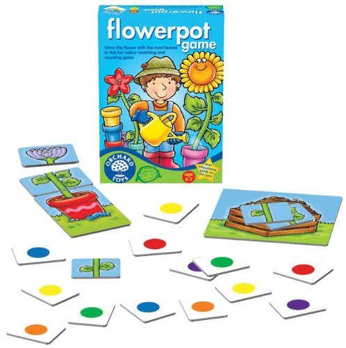 Imagen principal de Orchard Toys - Flower Pot Game (Juego de Maceta) [Versión en Inglés]