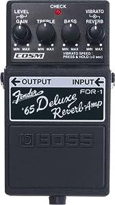 Boss FDR-1 Fender '65 Deluxe Reverb Amp Pedal
