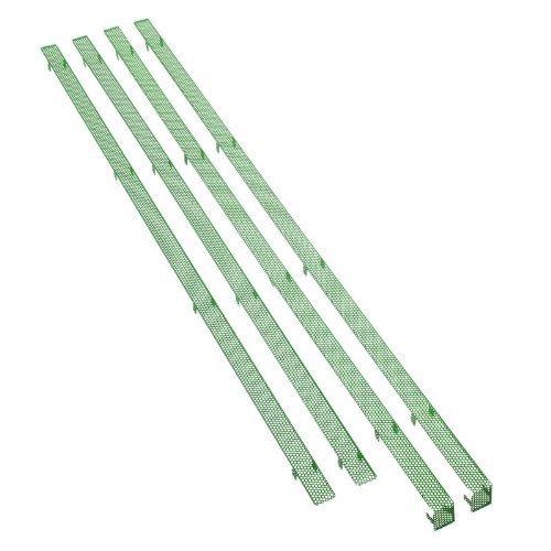 BitFenix Mesh-Stripes per Shinobi XL - green