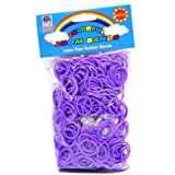 Loom Bandz - Rainbow Colours - Purple 600 Count