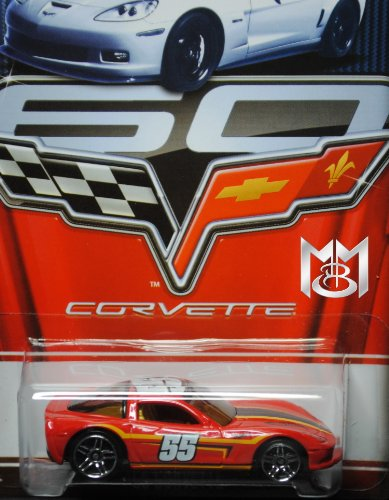 Hot Wheels 2013 Corvette Series 60 Year Anniversary Limited Edition - C6 Corvette 8/8 - 1