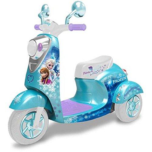 Best Prices! Disney Frozen 3-Wheel Scooter 6-Volt Battery-Powered Ride-On