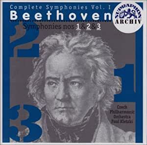 Symphonies 1-3: Egmont: Incidental Music and