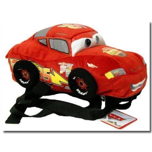 disney pixar cars plush backpack lightning mcqueen toys