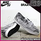 NIKE(ナイキ) SB ブラータ BRAATA LR NF Wolf Grey/White/メンズ(men's) 靴 スニーカー(599632-012)