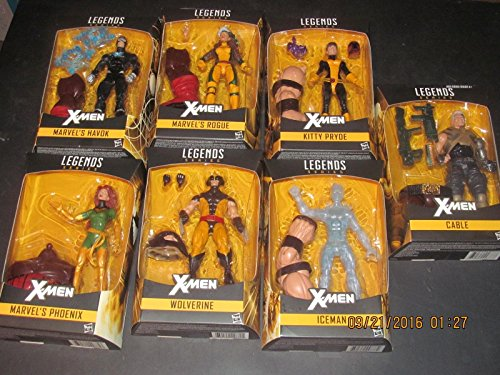 X-Men Marvel Legends 6-Inch Action Figures Wave 1