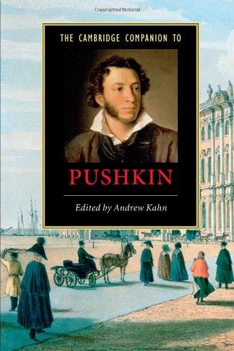 The Cambridge Companion to Pushkin (Cambridge Companions to Literature)